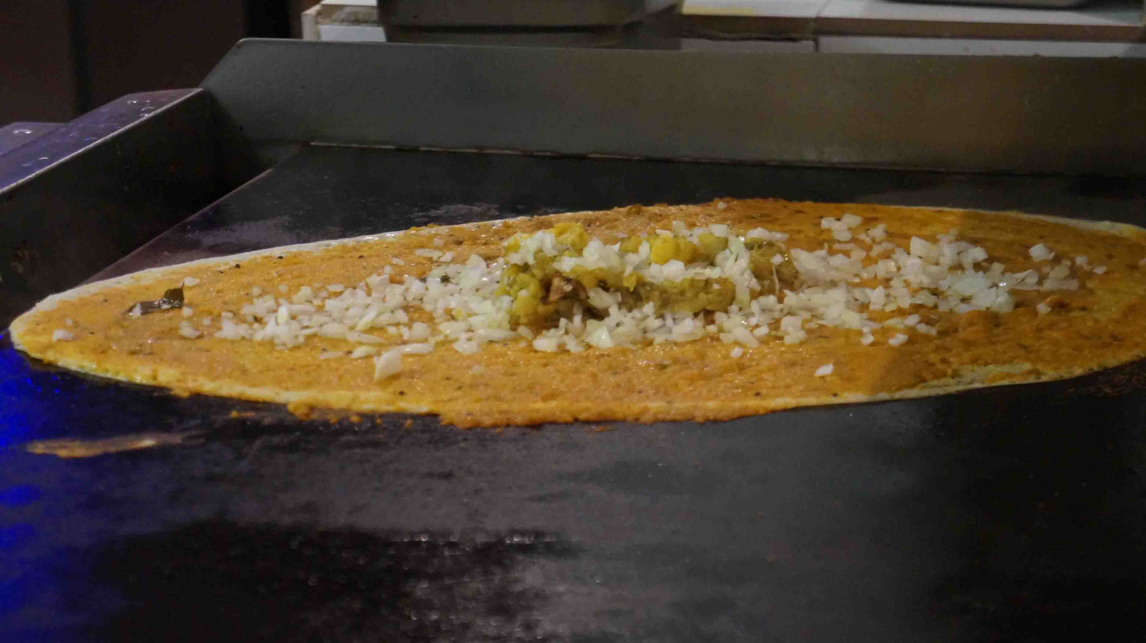 Dosa in Making